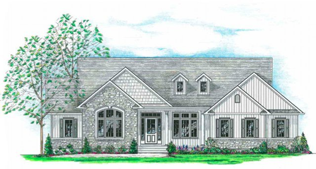 Home Plans HOMEPW03678 - 1,800 Square Feet, 3 Bedroom 2 Bathroom
