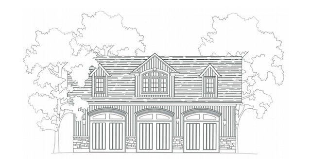 Garage building plans drafting innovations drafting for Garage plans ontario